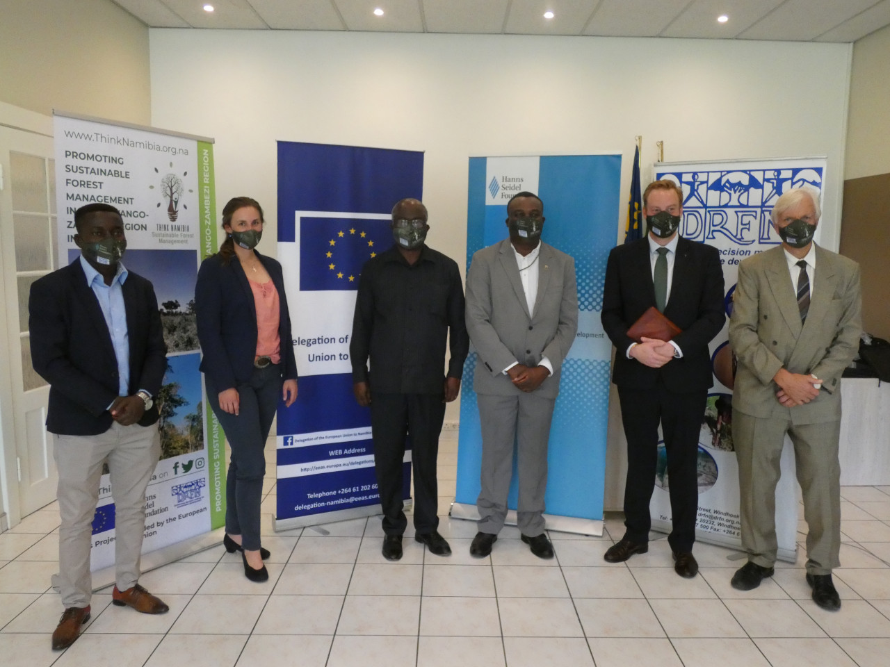 Promoting Sustainable Forest Management in the Kavango-Zambezi-Region in Namibia' Project Officially Launches at the House of Democracy